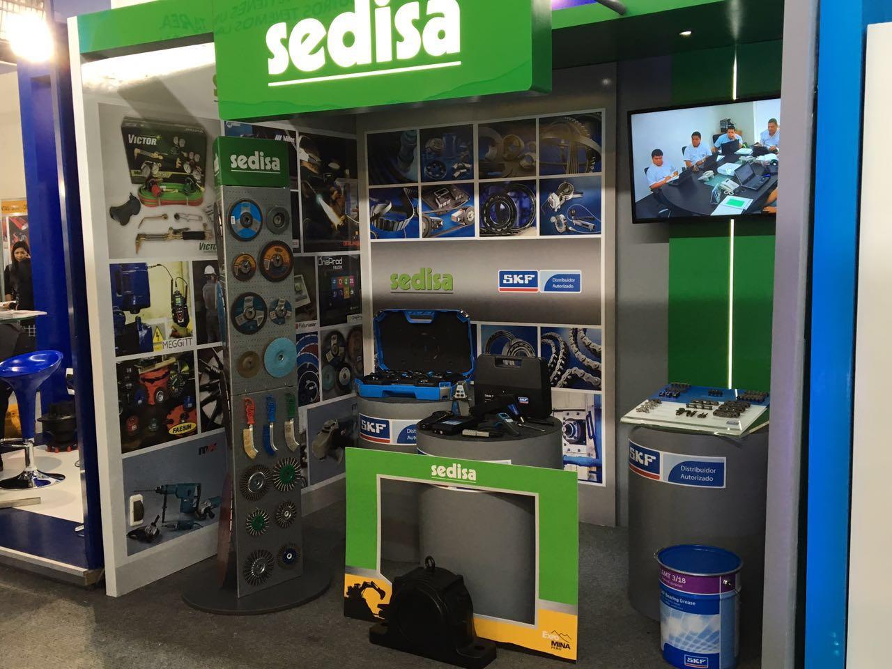 SEDISA PRESENTE EN EXPOMINA 2016