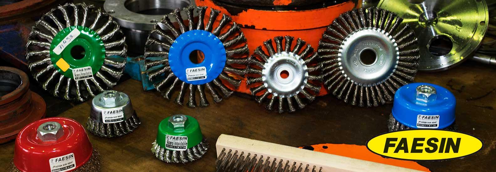 FAESIN – Fabricante Alemán Líder de Cepillos Industriales